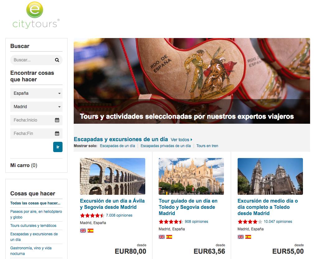 Excursiones y cosas que hacer en España